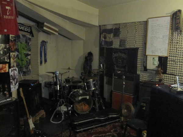 Practice Space at Stop, Porto