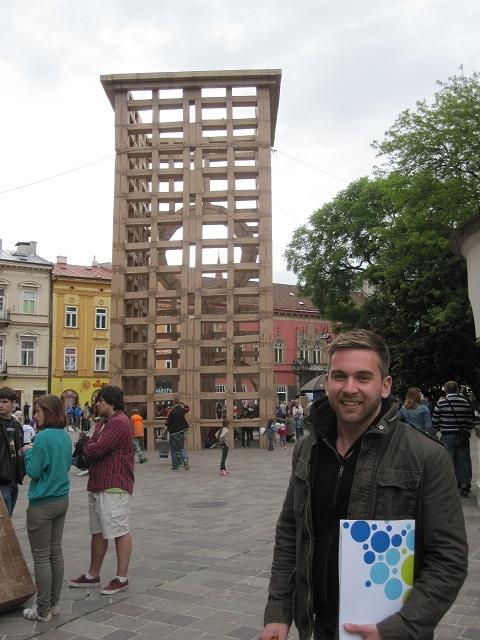 Jeremy Albelda in Kosice, Slovakia