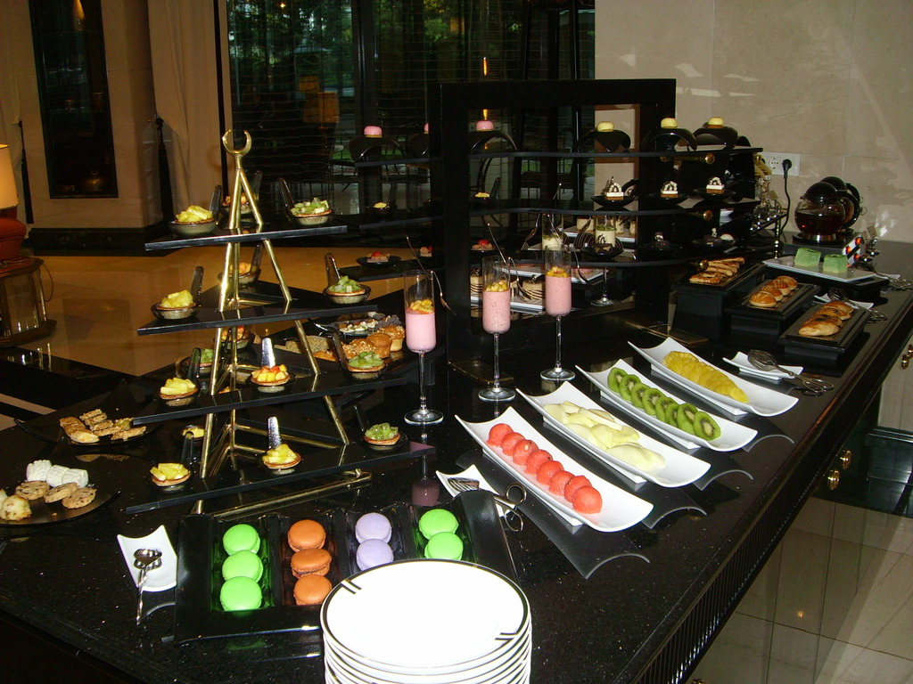 food buffet in Istanbul hotel