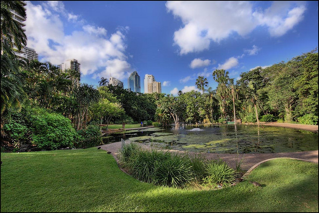 gardens in Brisbane