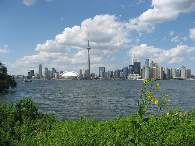 Toronto on a sunny day