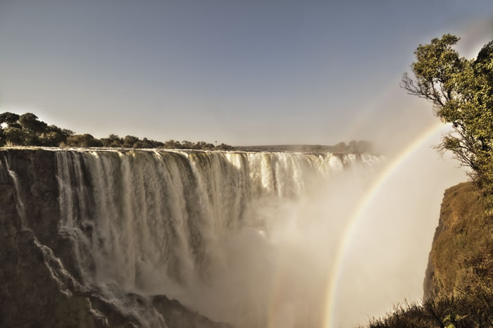 The spectacular Victoria Falls - Photo by Ilala Lodge