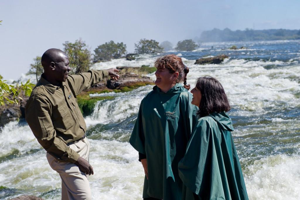 atop Victoria Falls