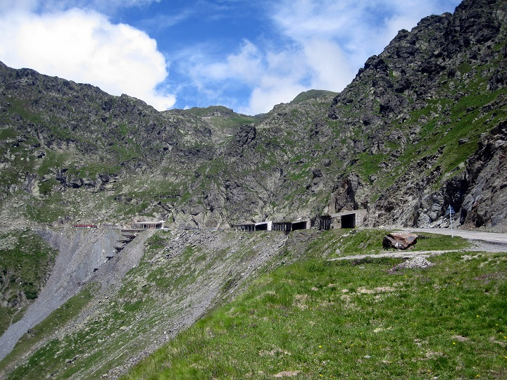 Tunnel on the transfagarasan highway