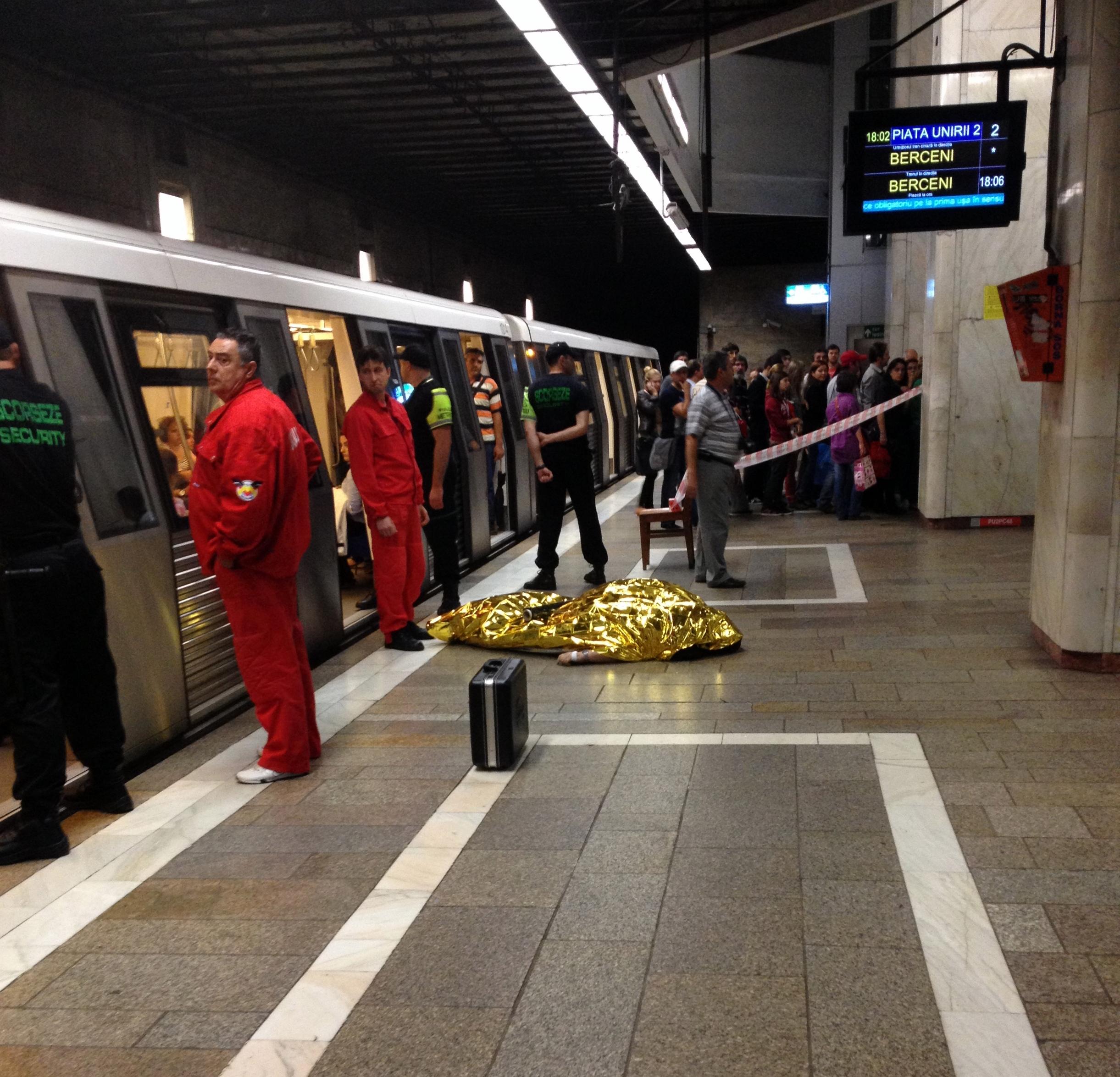 Death on the metro