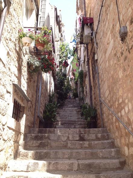 Dubrovnik street view
