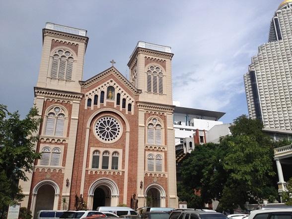 cathedrals in Bangkok