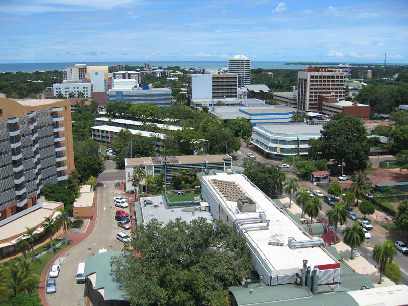 Downtown, Darwin Australia