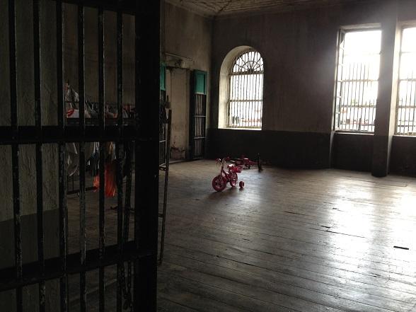 Inside old customs house in Bangkok