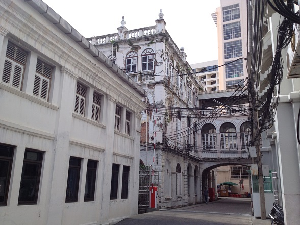 old architecture in Bangkok