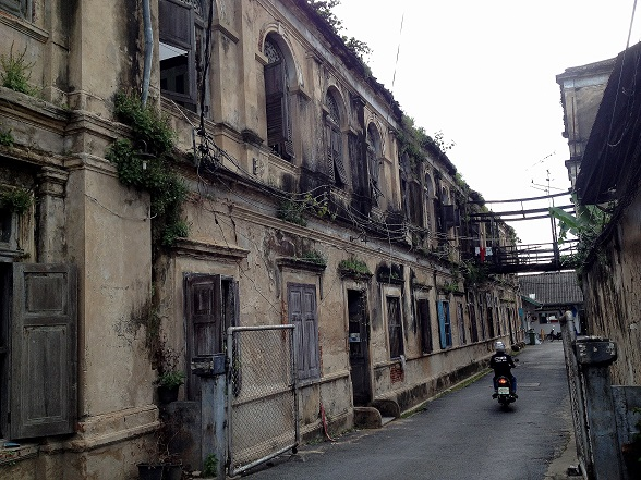 Old East Asiatic Company side view, Bangkok