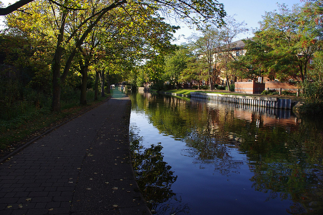 waterway in Nottingham