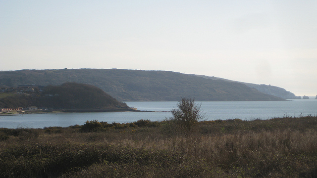 landscape on the isle of wight