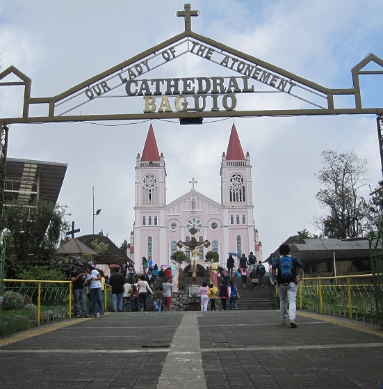 main cathedral in Baguio City, Philippines