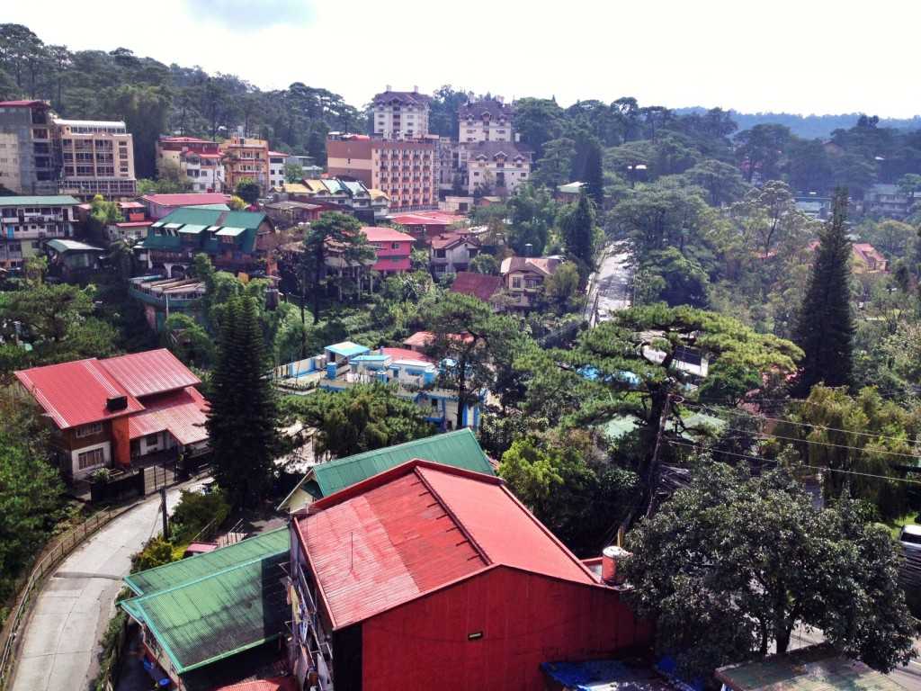 Baguio City panoramic