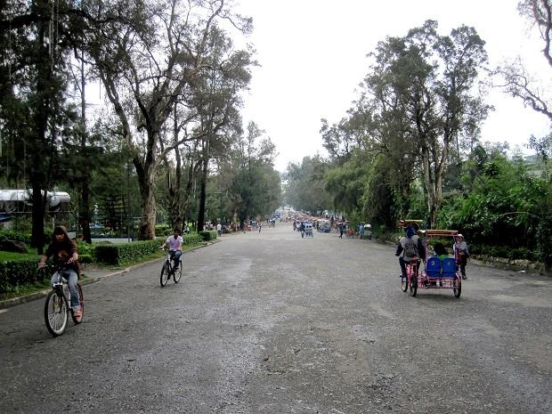 Park in Baguio City, Philippines