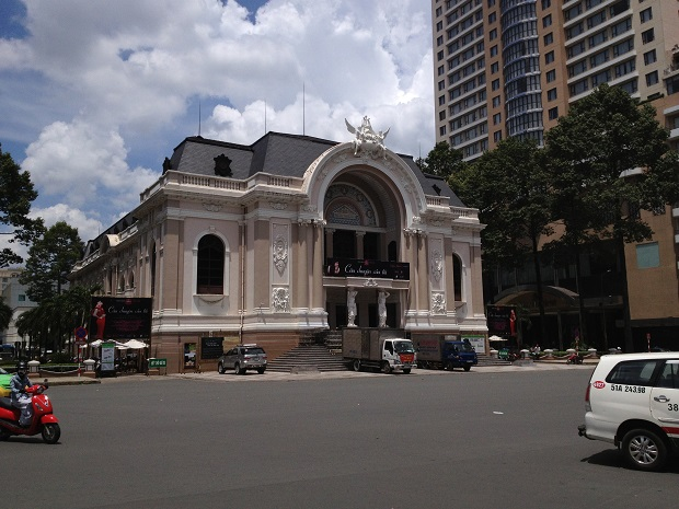 opera house in Saigon