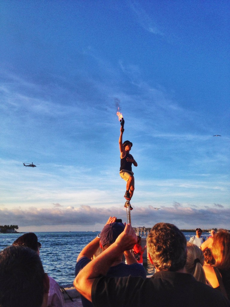 Juggler in Key West