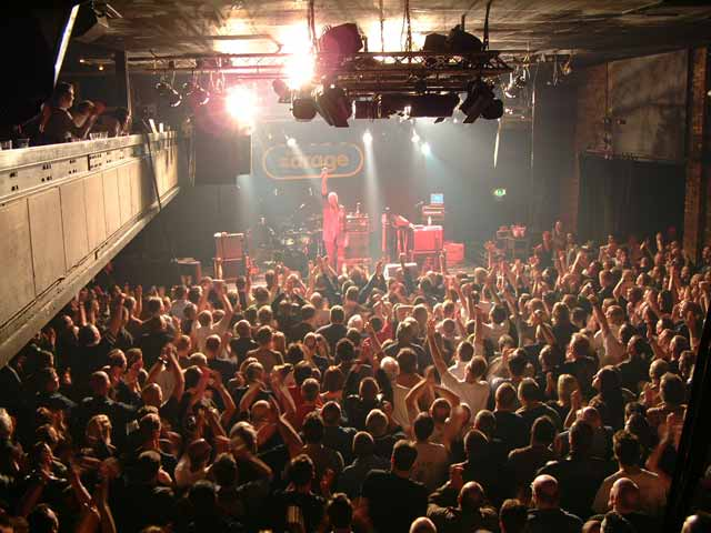 The Garage nightclub, Glasgow, Scotland