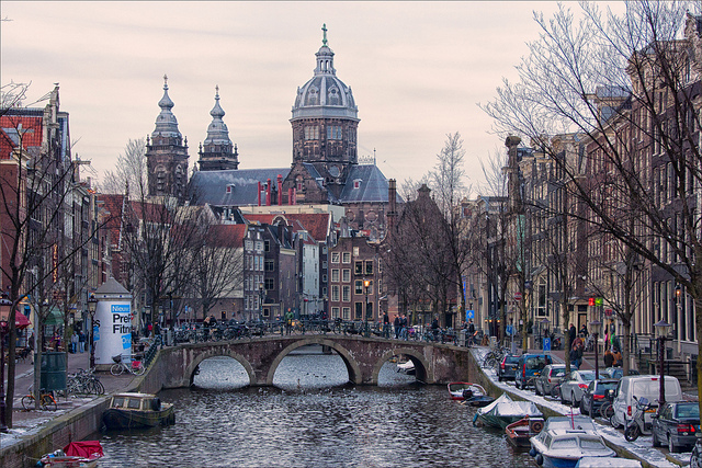 Amsterdam, in the Netherlands