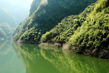 scenic view of Yangtze River in China