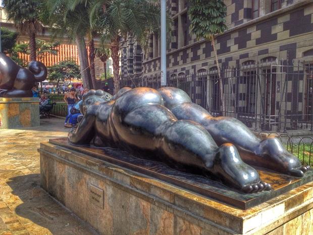 Botero Statue, Medellin