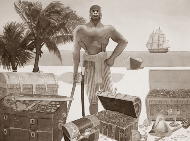Black Caesar Pirate, from Wikipedia
