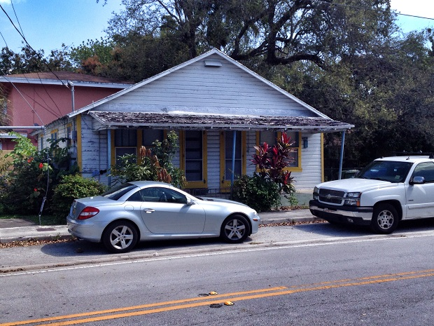 Old home in coconut grove