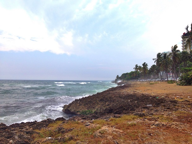 coast in Santo Domingo