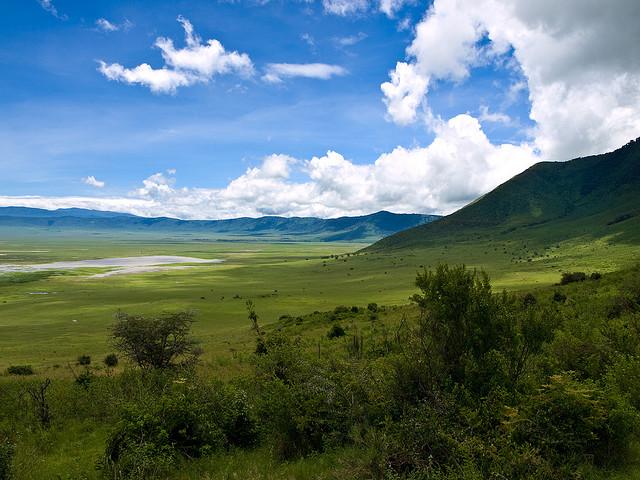 Tanzania crater