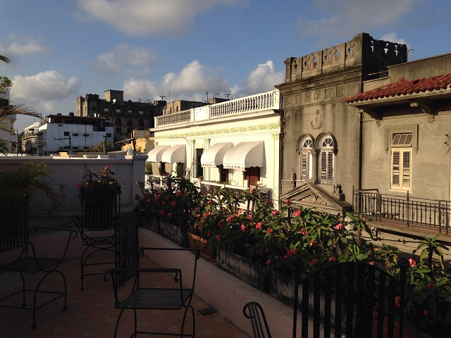 El Beaterio Hotel Roof deck, Santo Domingo
