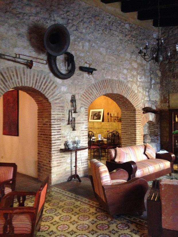 El Beaterio Hotel interior