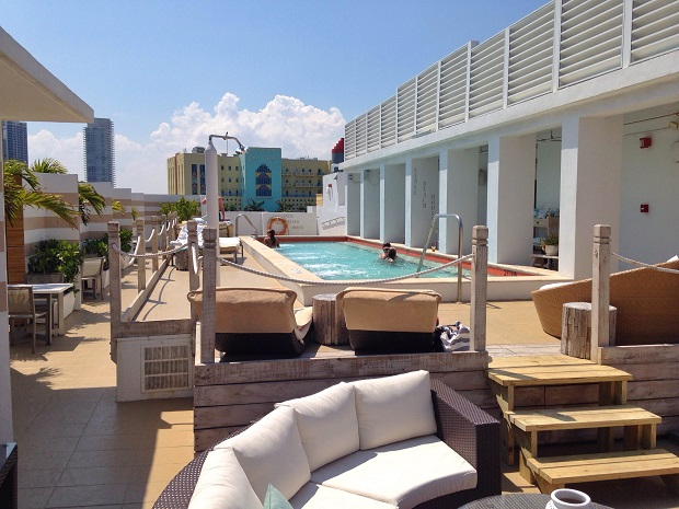 Sense Beach House Rooftop Pool