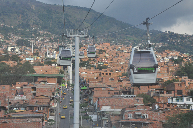 Cable cars in Antioquia