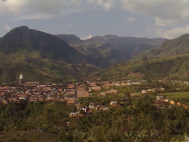 Town of Jardin, Colombia