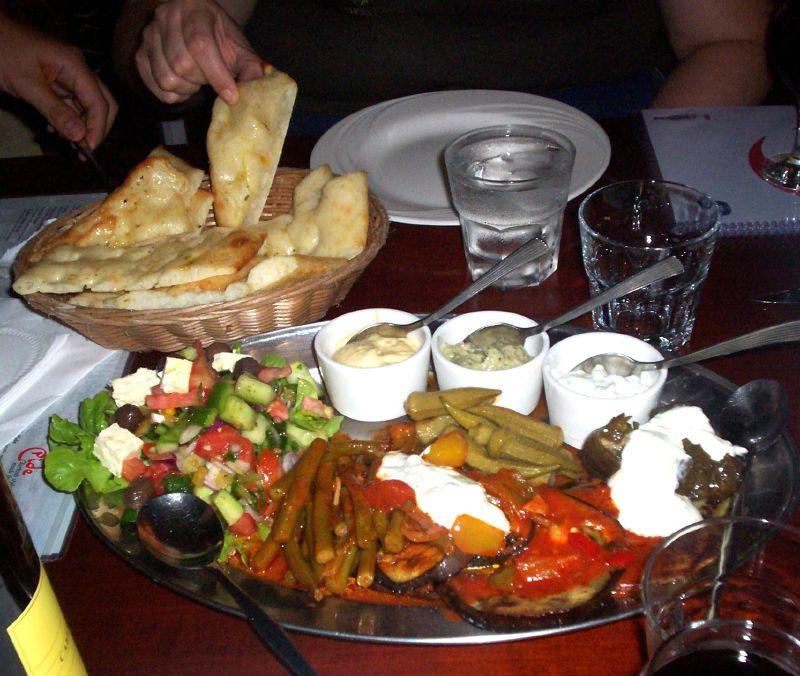 Vegetarian Meze Platter