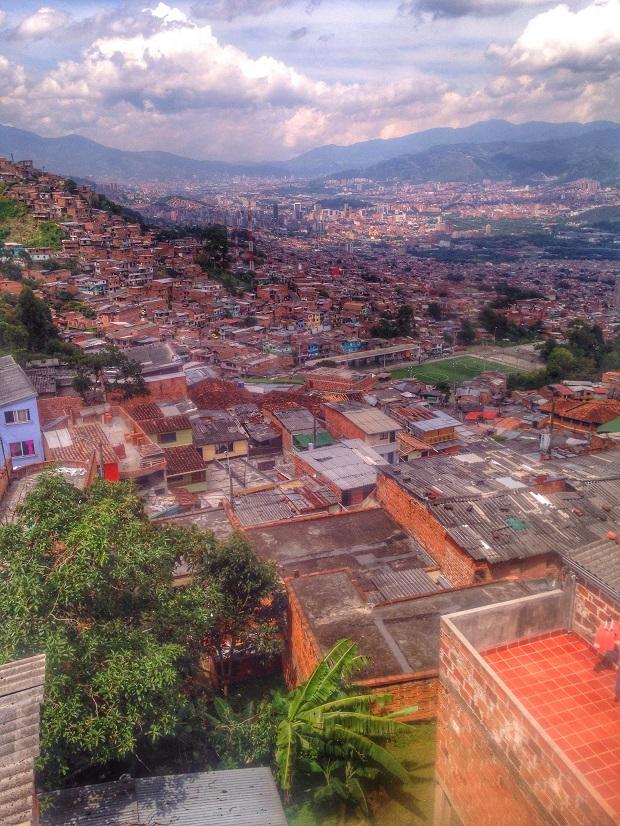 slums in Medellin