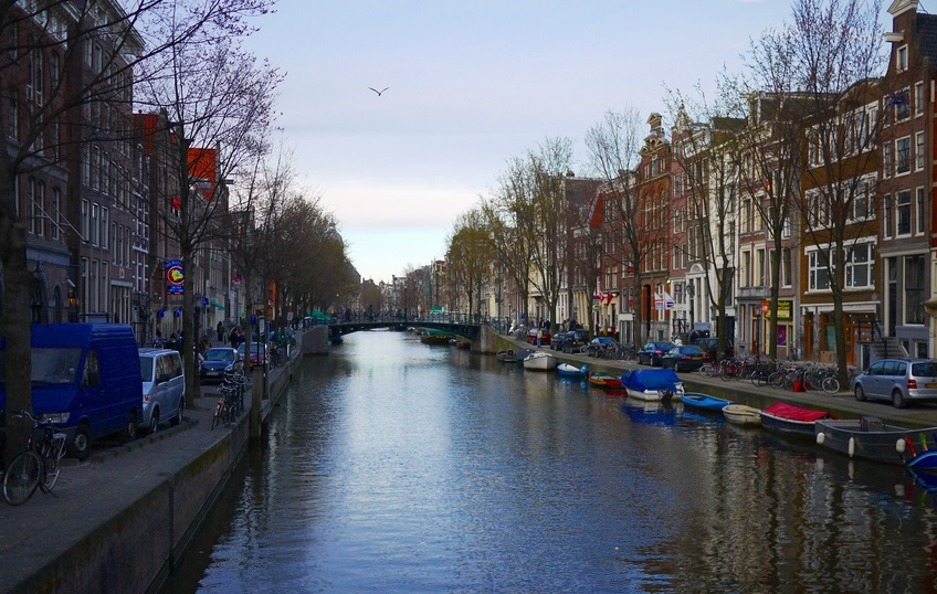 The canals are one of the top reasons to visit Amsterdam
