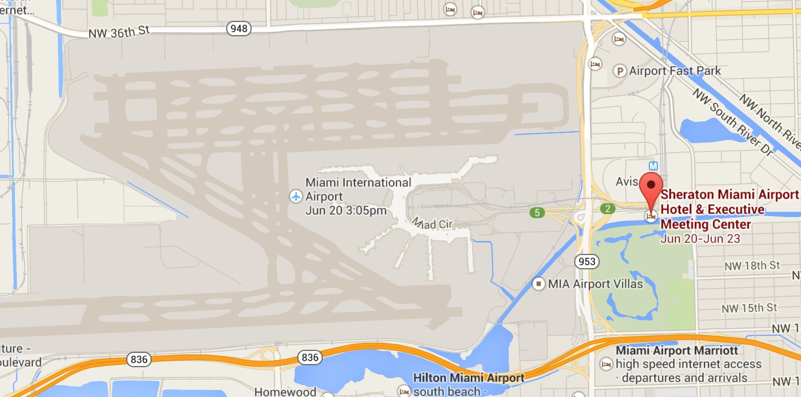 airport parking at miami international airpot