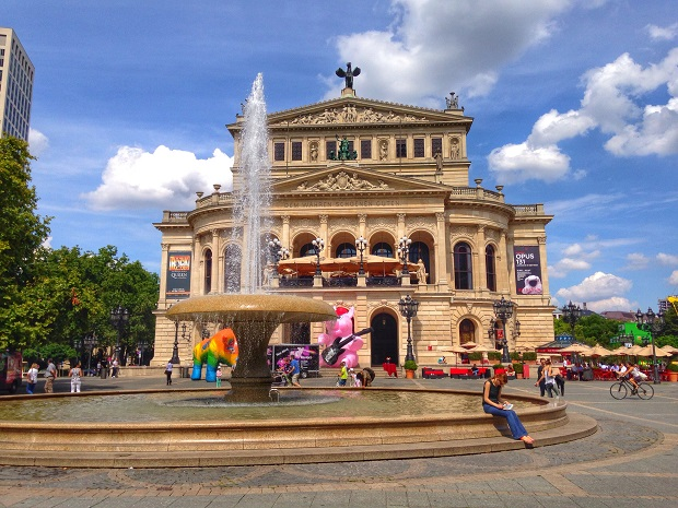 Old Opera House in Frankfurt