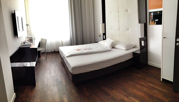 room at The Pure hotel in Frankfurt