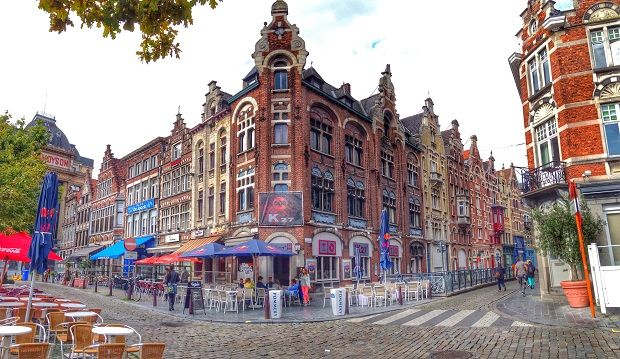amazing buildings in Ghent