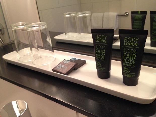 free trade shampoo hotel otto, berlin
