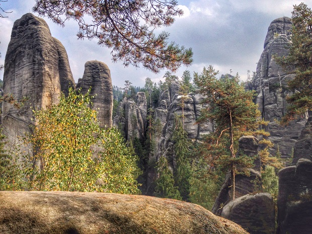 Adrspach and Teplice Rocks, Czech Republic rock city