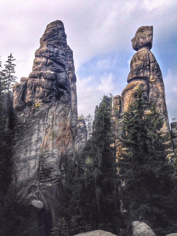 Adrspach and Teplice Rocks, Czech Republic rock formations