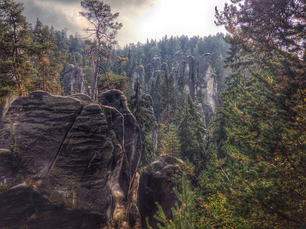 Ardspach_Teplice Rocks, Czech Republic