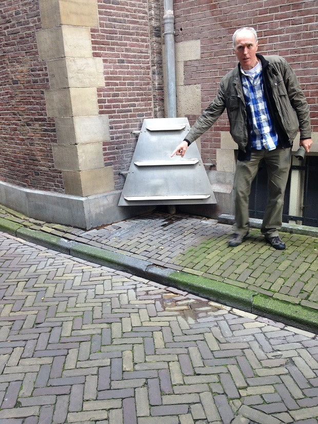 pee stopper in Amsterdam