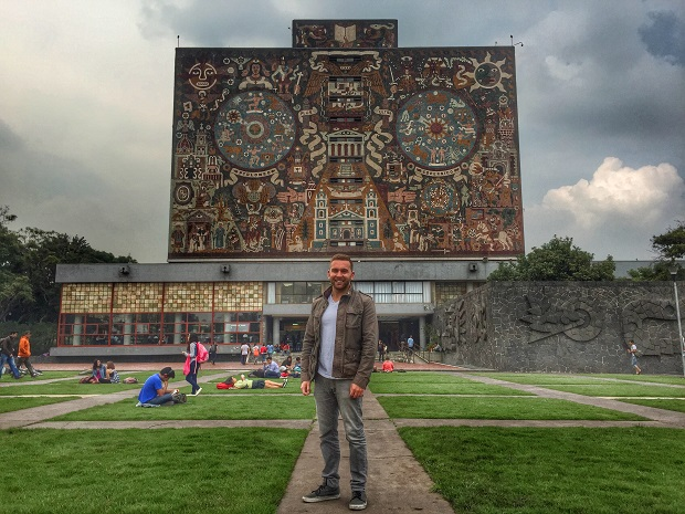 on the unam campus in Mexico City