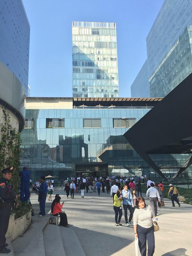 modern buildings in polanco, mexico city, polanco nuevo