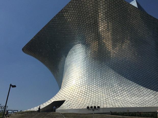 museo soumaya exterior